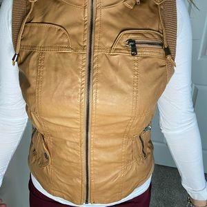 Jackets & Coats - Brown Jacket Vest